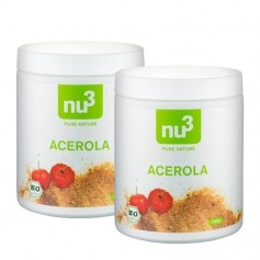 2 x nu3 ekologiskt acerolapulver