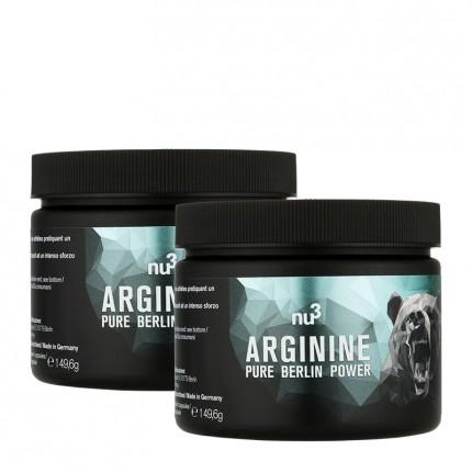 nu3, L-arginine, gélules, lot de 2