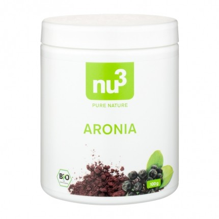 2 x nu3 Aroniajauhe, luomu