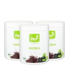 3 x nu3 Aroniajauhe, luomu