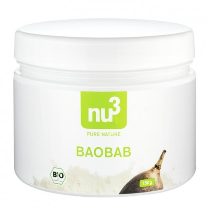 2 x nu3 Baobab -jauhe, luomu