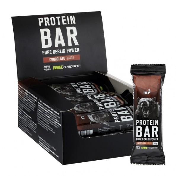 12 x nu3 Protein Bar 40% Schoko