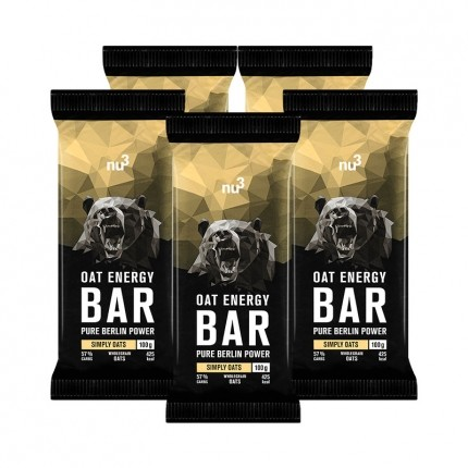 5 x nu3 Oat Energy Bar