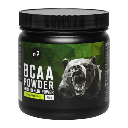 nu3 BCAA Powder, Fresh Apple