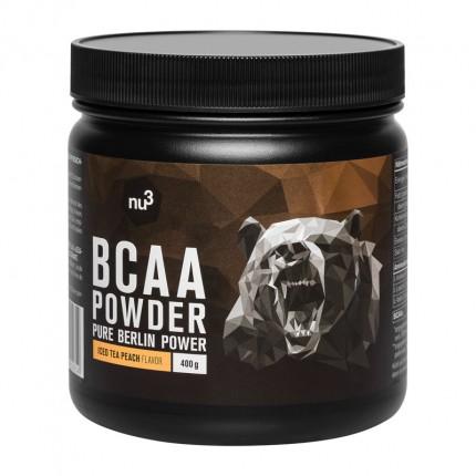 nu3 BCAA Powder, Iced Tea Peach