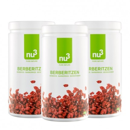 3 x nu3 Berberitzen Beeren