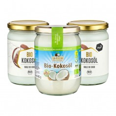2 x nu3 Bio Kokosöl + Dr. Goerg Premium-Bio-Kokosnussöl
