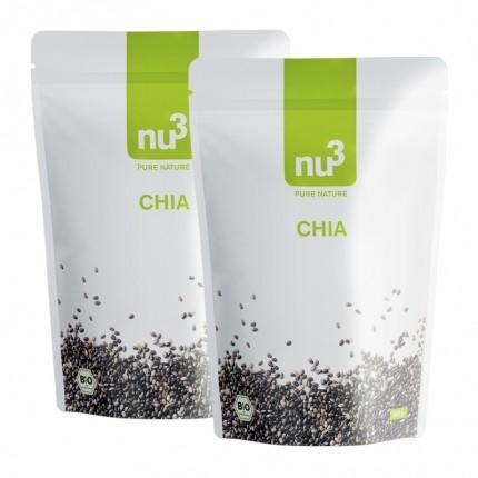 Chia-Samen Doppelpack von nu3