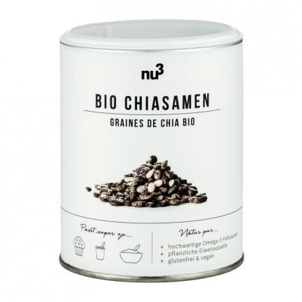 Chia-Samen Bio, 200g von nu3
