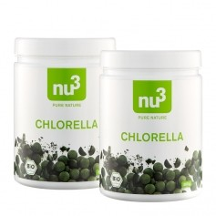 2 x nu3 Bio Chlorella, Tabletten