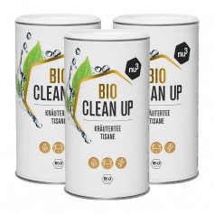 3 x nu3 Bio Clean Up Kräutertee, lose