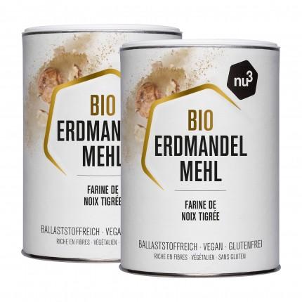2 x nu3 Bio-Erdmandelmehl