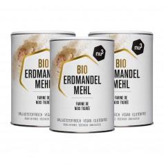 3 x nu3 Bio-Erdmandelmehl