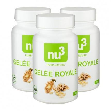3 x nu3 Bio-Gelée Royale, Kapseln