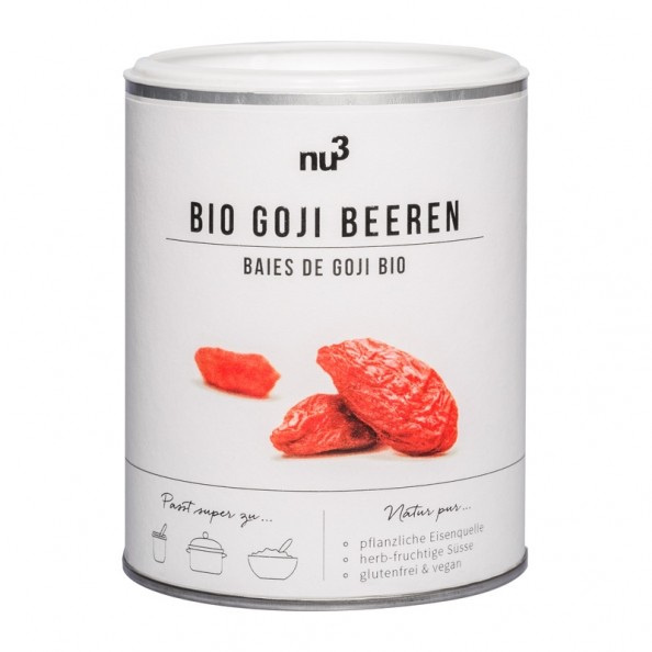 nu3 pure nature bio goji beeren 500 g bei nu3 bestellen. Black Bedroom Furniture Sets. Home Design Ideas