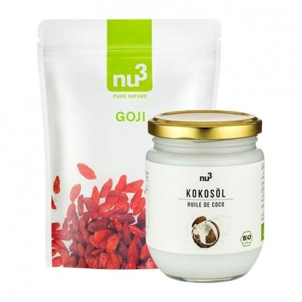 nu3 Bio Kokosöl + Goji Beeren