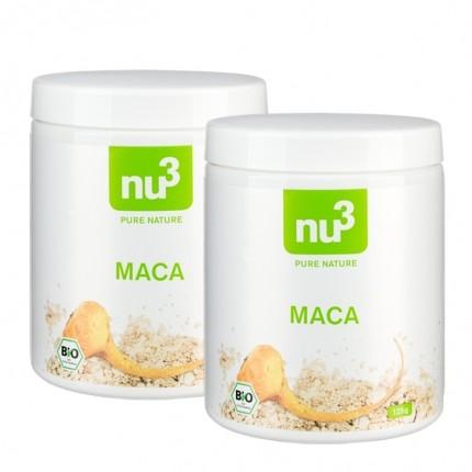 nu3 Bio Maca, Pulver (2 x 125 g)