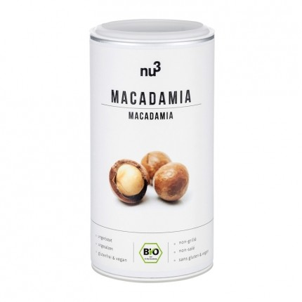 Macadamia Nüsse Bio von nu3