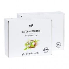 2 x nu3 Bio Matcha Coco Mix, Sticks