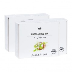 3 x nu3 Bio Matcha Coco Mix, Sticks
