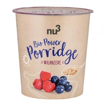 nu3 Bio Power Porridge, Wildbeere