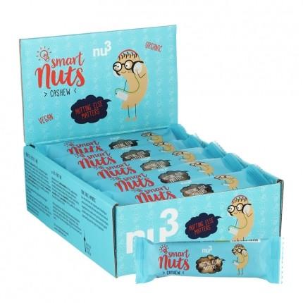 nu3 Bio Smart Nuts Cashew, Riegel