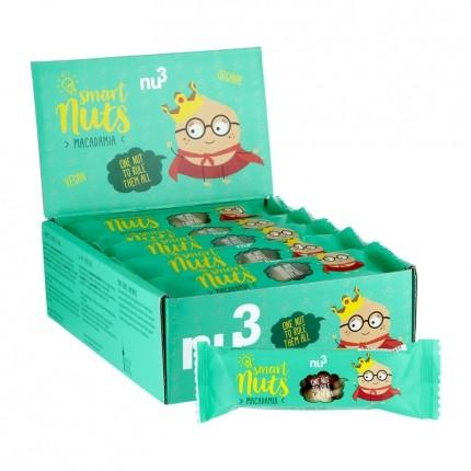 nu3 Bio Smart Nuts Macadamia, Riegel