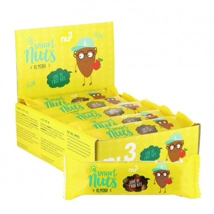 nu3 Bio Smart Nuts Mandel, Riegel