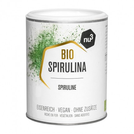 nu3 Bio Spirulina, Pulver (140 g)