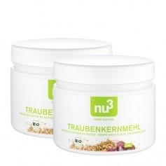 2 x nu3 Bio-Traubenkernmehl