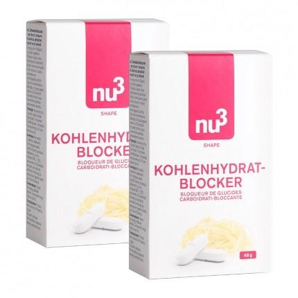 nu3 Kohlenhydratblocker Doppelpack, Tabletten
