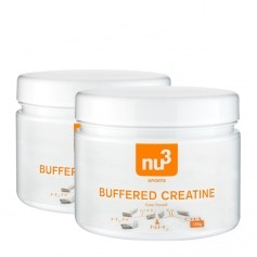 2 x nu3 Buffered Creatine Capsules