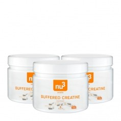 3 x nu3 Buffered Creatine, kapsler