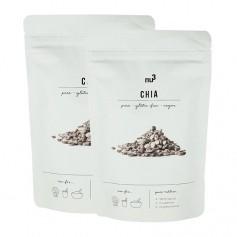 2 x nu3 Chia, ganze Samen