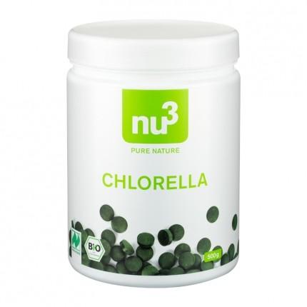 nu3 Bio Chlorella, Presslinge