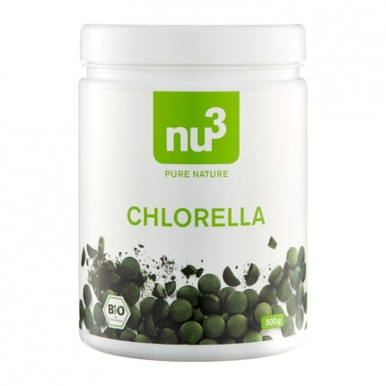 nu3 Chlorella, Bio-Tabletten