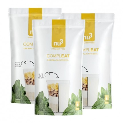 3 x nu3 Compleat, powder
