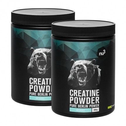 nu3 Sports Creatine Doppelpack, Pulver