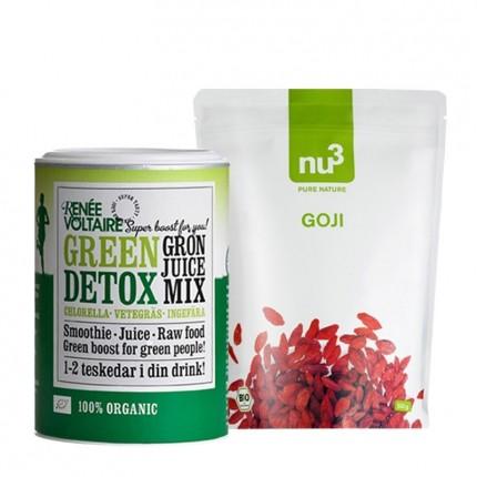Köpa billiga nu3 DIY Superfood Mix Detox: Renée Voltaire + nu3 gojibär, EKO online