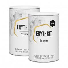 nu3, Érythritol, substitut de sucre, poudre, lot de 2