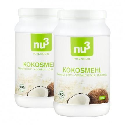 2 x nu3 Bio Kokosmehl