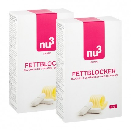 2 x nu3 Fat Blocker, tablets