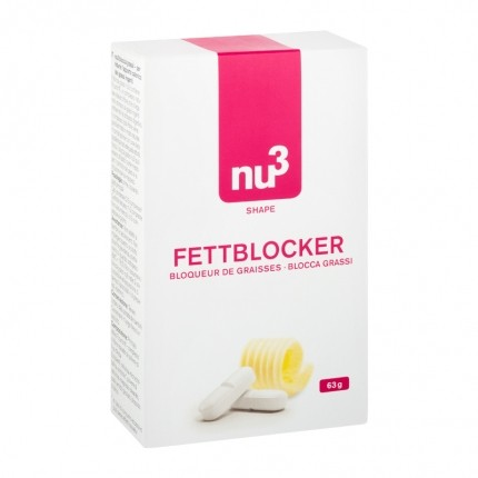 2 x nu3 Fat Blocker, tablets