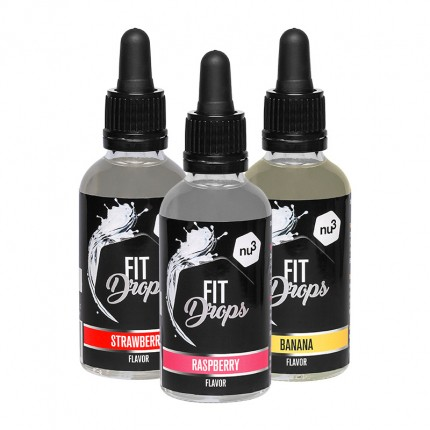 nu3 Fit Drops, Fruit-Mix, Aromatropfen