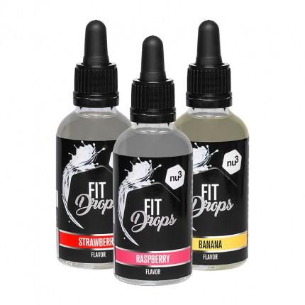 nu3 Fit Drops, Fruit-Mix, Aromatropfen