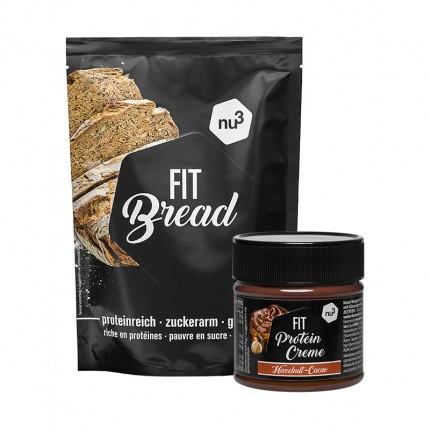 nu3 Fit Eiweissbrot + nu3 Protein Creme
