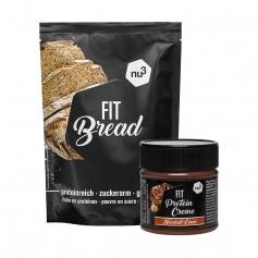 nu3 Fit Eiweißbrot + nu3 Protein Creme