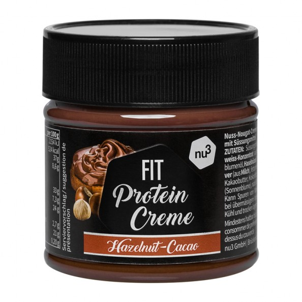 nu3 Protein Crème, Haselnuss