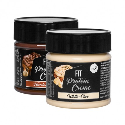 nu3 Fit Protein Creme, Hazelnut- Cacao & White Choc