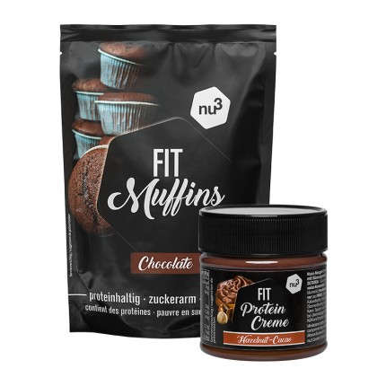 nu3 Fit Protein Muffins + nu3 Protein Creme